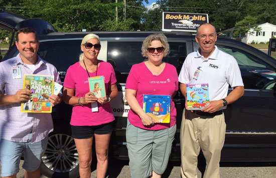 Traverse Heights Bookmobile