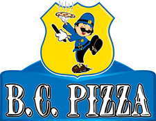 B.C. Pizza Logo