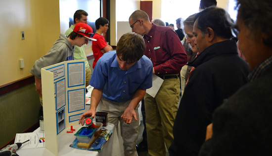 Students present science projects