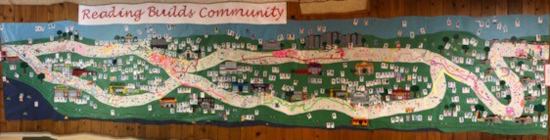Willow Hill Reading Mural