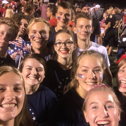 GAPP students at the Patriot Game