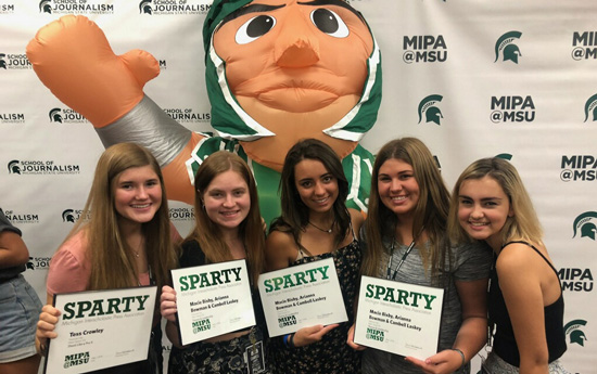 Students earn MIPA Awards