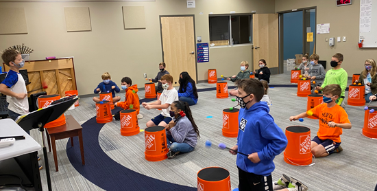 Home Depot Bucket Drums