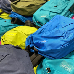 Rotary Backpack Donation